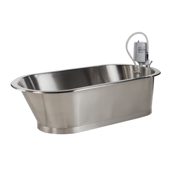 Therapeutic Whirlpools can provide cold, contrast, and hot bath treatments in improve recovery time after injury and surgery.