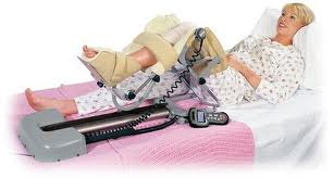 CPM or Continuous Passive Motion Therapy is on of the most effective therapies after knee or elbow surgery
