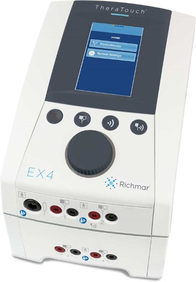 Richmar Theratouch EX 4 | 4 Channel Clinical E-stim Device