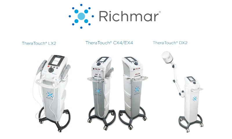 RIchmar TheraTouch  Series - Ultrasound, E-Stim, Diathermy, and LLT